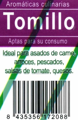 Maceta de tomillo - Ingredients