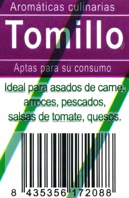 Maceta de tomillo - Ingredientes