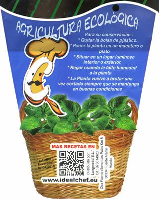 Maceta de tomillo - Información nutricional