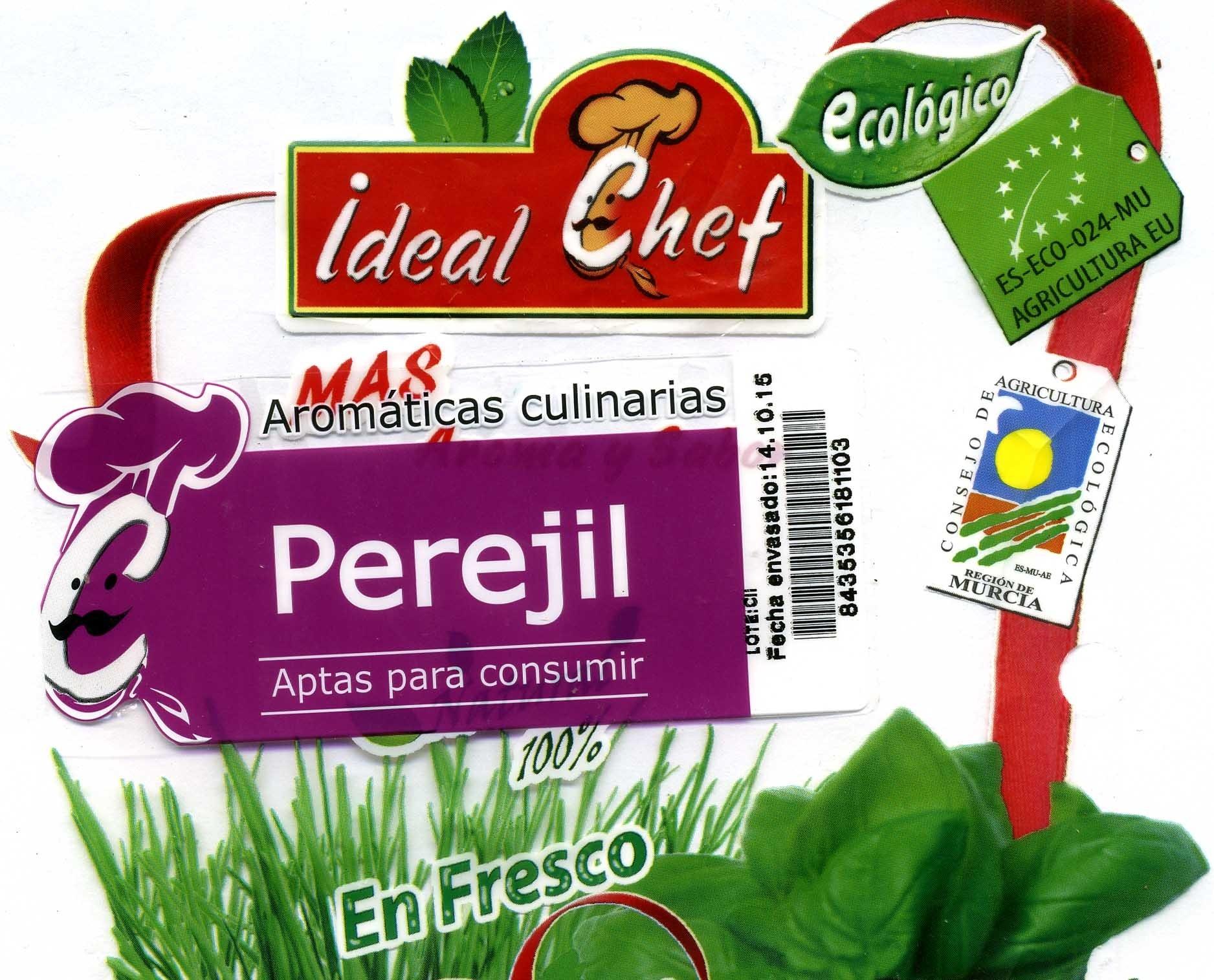 Maceta de perejil - Ingredients - es