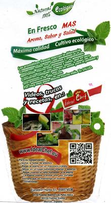 Maceta de perejil - Información nutricional