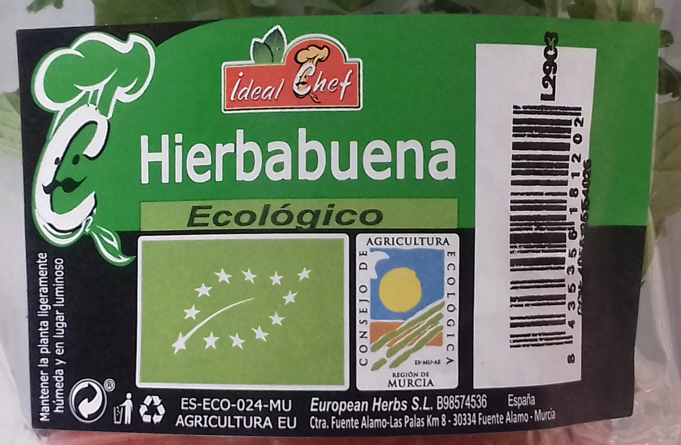 Hierbabuena - Ingredients