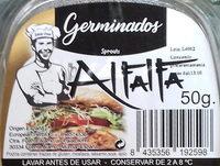 Germinados Alfalfa - Ingredientes