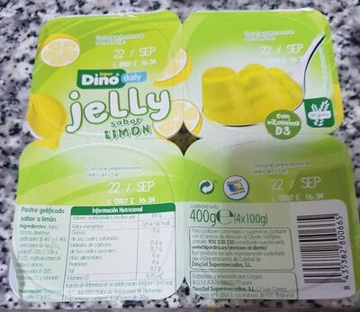 Jelly sabor limón