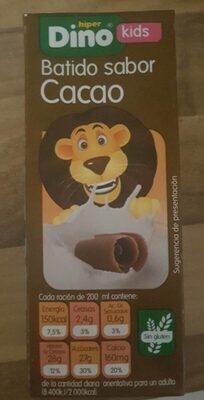 Batido sabor cacao - Producto - es
