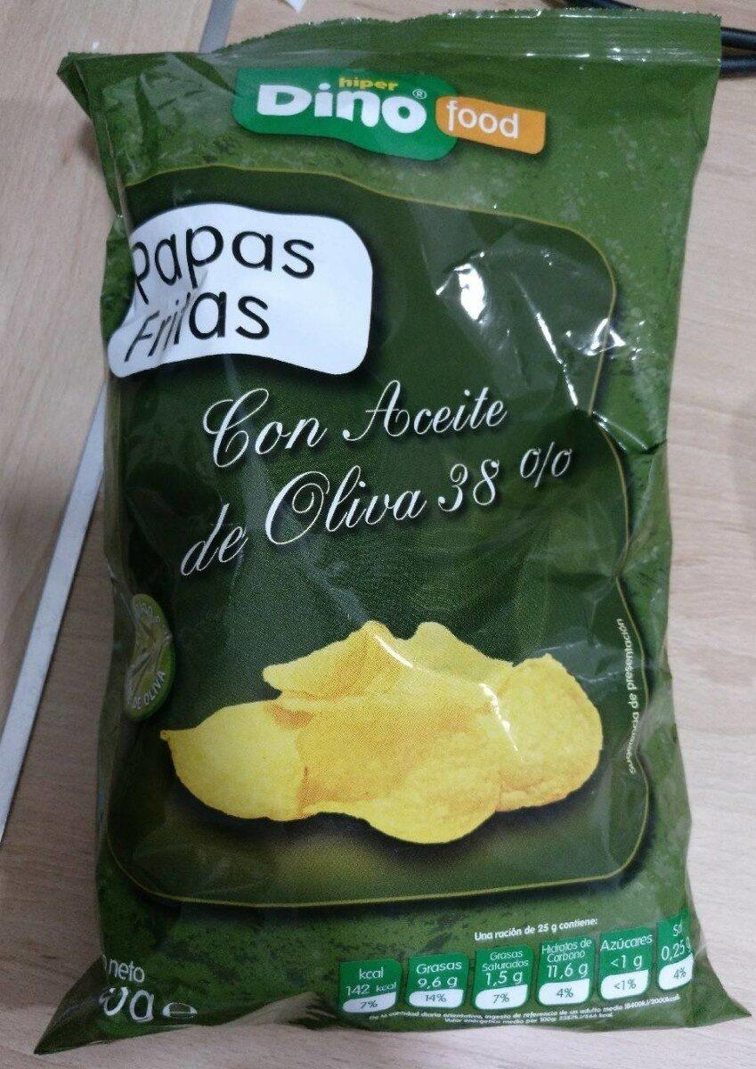 Papas fritas con aceite de oliva - Product - es