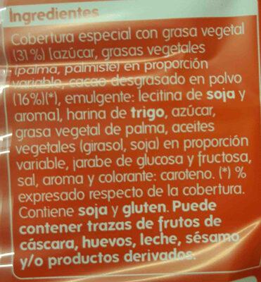 Palmeritas bañadas de Cacao - Ingredientes