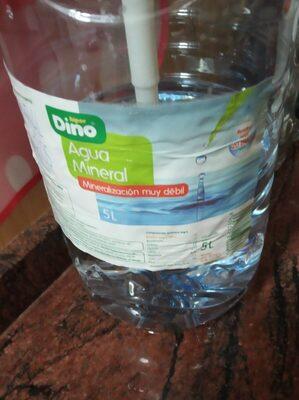 Agua mineral de mineralización muy débil - Producto - es