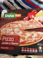 Pizza jamón y queso - Producte - es