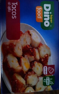 Tacos de pota al ajillo dino - Product