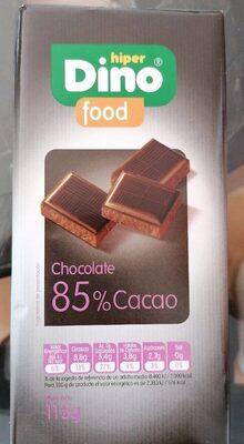 Chocolate negro 85%