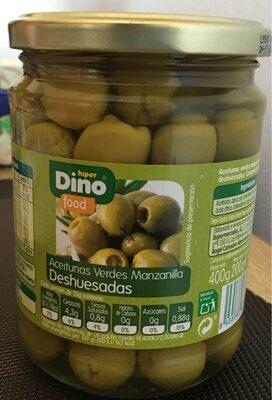 Aceitunas Verdes Manzanilla Deshuesadas