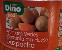 Aceitunas verdes manzanilla con hueso gazpacha - Product - es