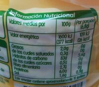 Tortitas Maíz - Nutrition facts
