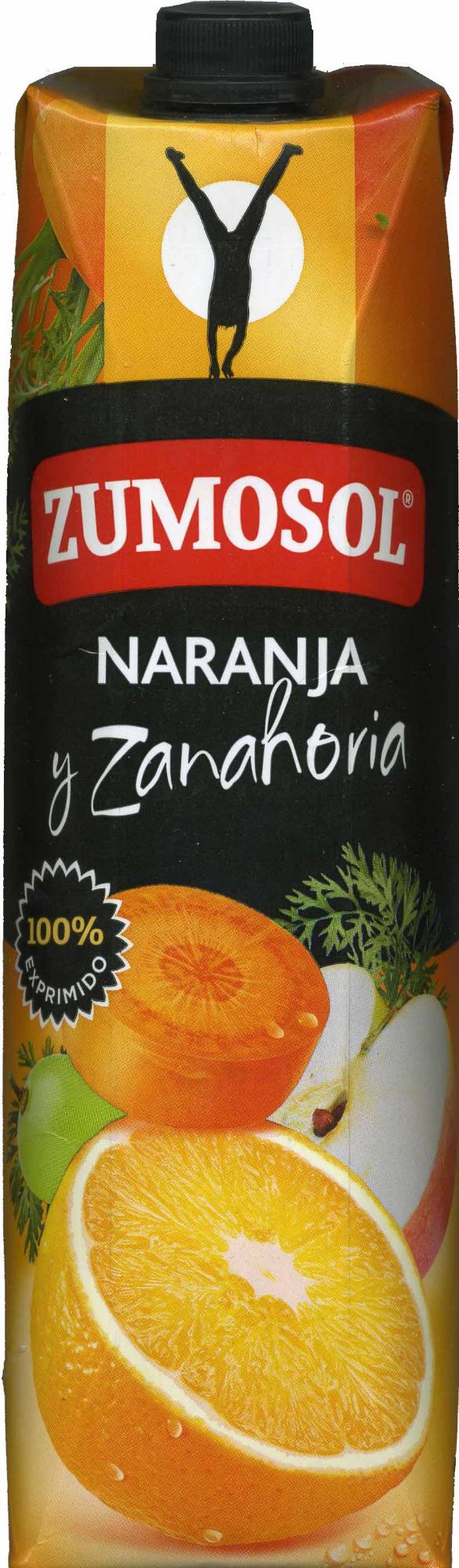 Bebida de zumo de naranja,zanahoria,manzana y - Producte