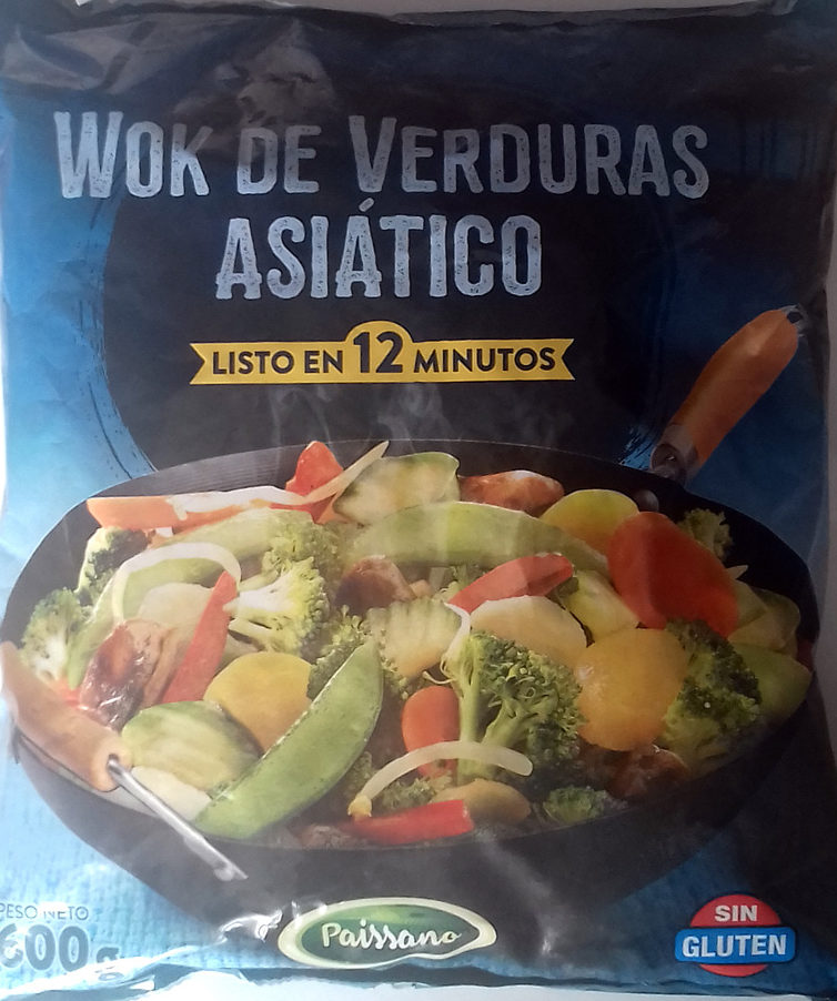 Wok de verduras asiático - Produit - es