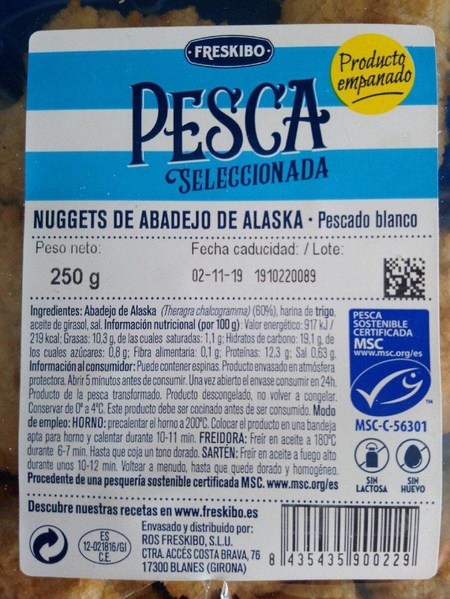 Nuggets de abadejo de Alaska - Producto - es