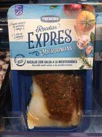 Bacalao con salsa a la mediterránea - Producto - es