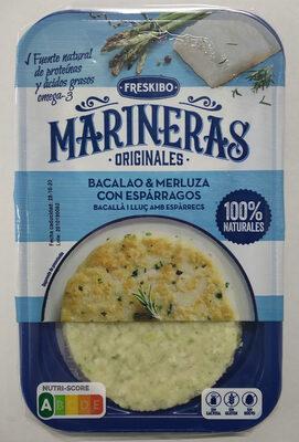 Marinera Bacalao & merluza con espárragos - Product