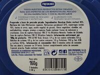 Marinera Bacalao & merluza con espárragos - Nutrition facts - es