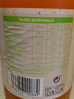 Zumo de zanahoria ecológico - Informations nutritionnelles