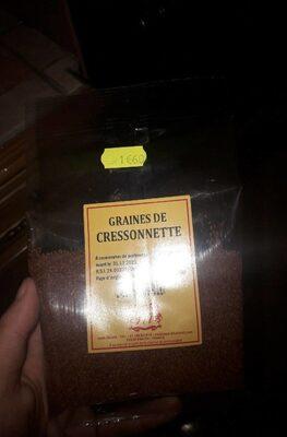 Graines de cressonnette - Produit - fr