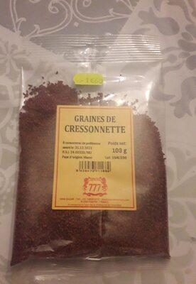 Graines de cressonnette - Informations nutritionnelles - fr