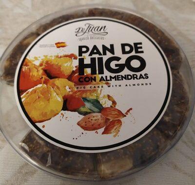 Pan de higos con almendras - Producto