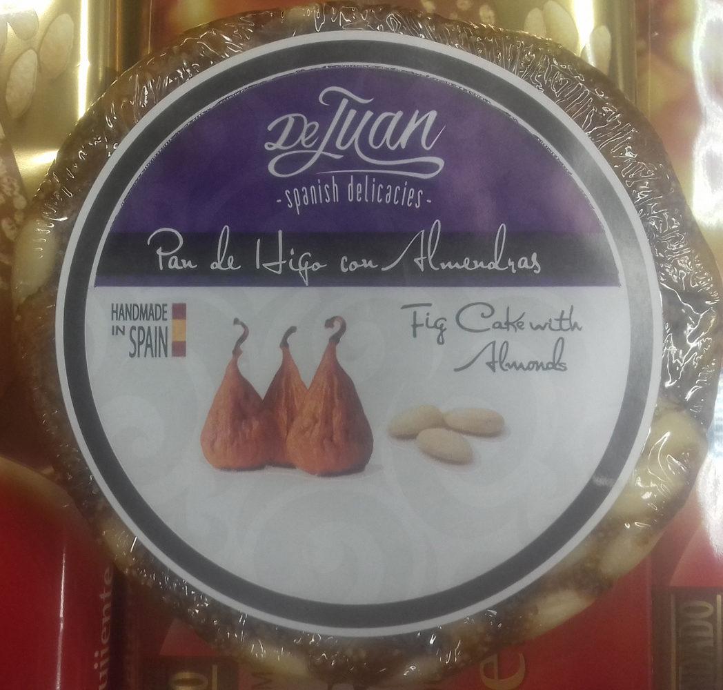 Pan de higo con almendras - Producte