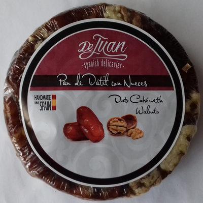 Pan de dátil con nueces