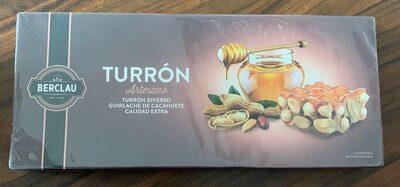 Turron guirlache de cacahuete artesano - Product