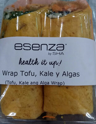 Wrap Tofu, Kale y Algas - Product