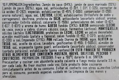 Flamenquines - Ingrediënten - es