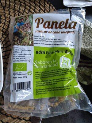 Panela (azúcar de caña integral)