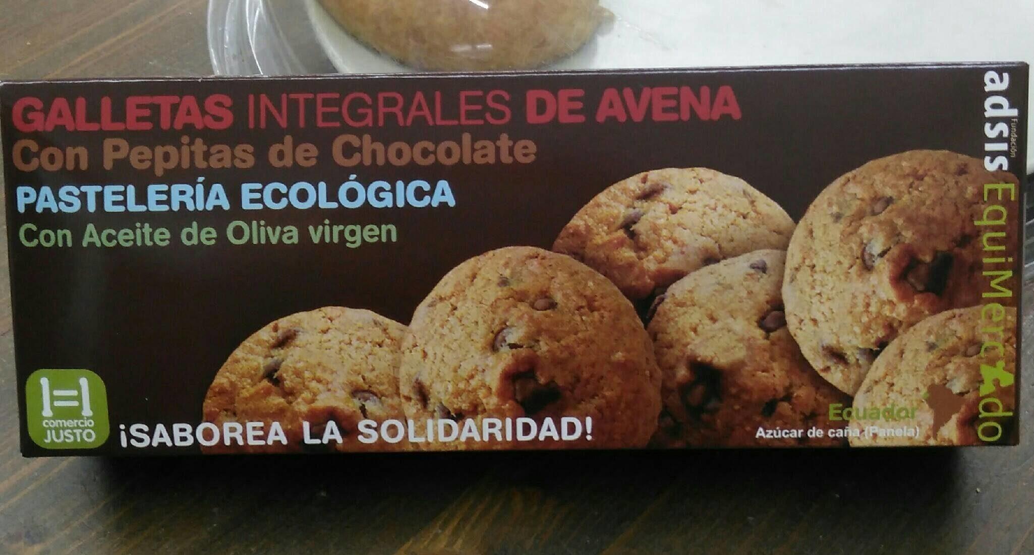 Galletas integrales Avena y Chocolate - Product - es