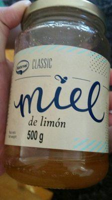 Miel de limon - Información nutricional - fr