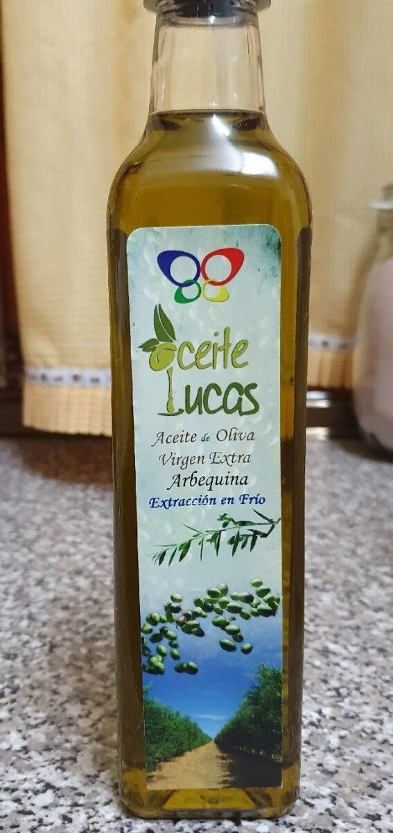 Aceite lucas aceite de oliva virgen extra arbequina - Product - es