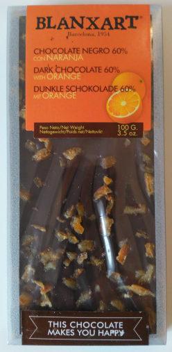 dark chocolate 60% with Orange - Producto - fr