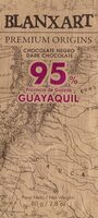 Dark Chocolate 95% Guayaquil - Producto - es