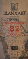Chocolate negro ecológico 82 % Congo - Producto