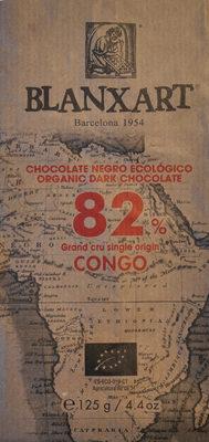 Chocolate negro ecológico 82 % Congo - Producte - es