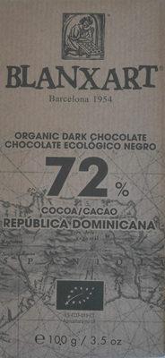Organic dark chocolate República Dominicana - Producto - en