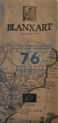 Chocolate negro ecológico 76 % Brasil - Producto - es