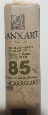 Chocolate negro ecologico 85%
