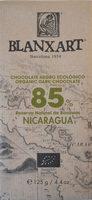 Chocolate negro ecológico 85 % Nicaragua - Producte