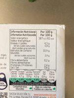 Poivron farci La Fragua - Informació nutricional