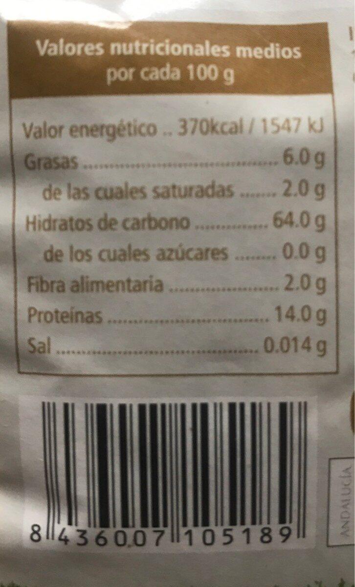 Quinoa - Voedingswaarden - es