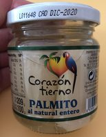 Palmito al natural entero - Produit