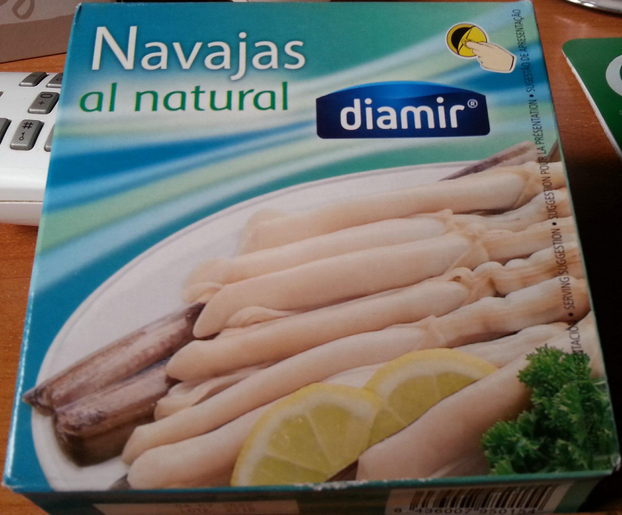 Navajas al natural - Product