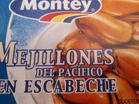 Mejillones del Pacifico en escabeche - Producto